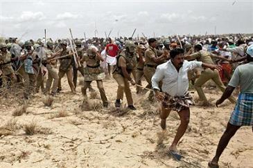 demo in India